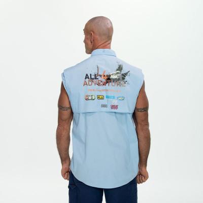 back of sleeveless shirt